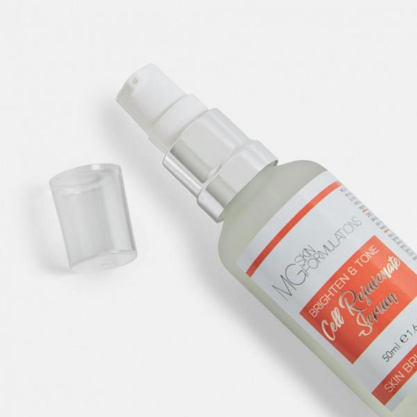 Cell Rejuvenate Serum Brighten & Tone MG Skin Formulations