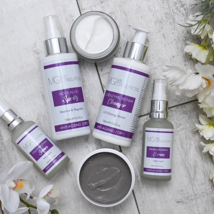 MG Skin Formulations Anti-Ageing Range